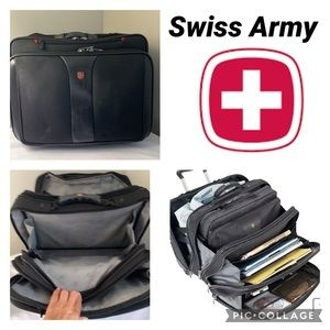 Swiss Army wheeled Lap Top Case and Luggage